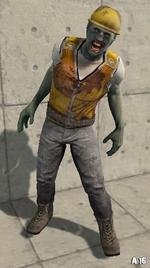 Utility Worker Zombie