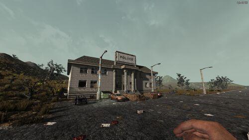 Police Station 1749 N, 518 W