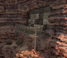 Шахта в каньоне