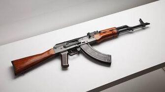Демонстрация АК-47 в Альфа 16
