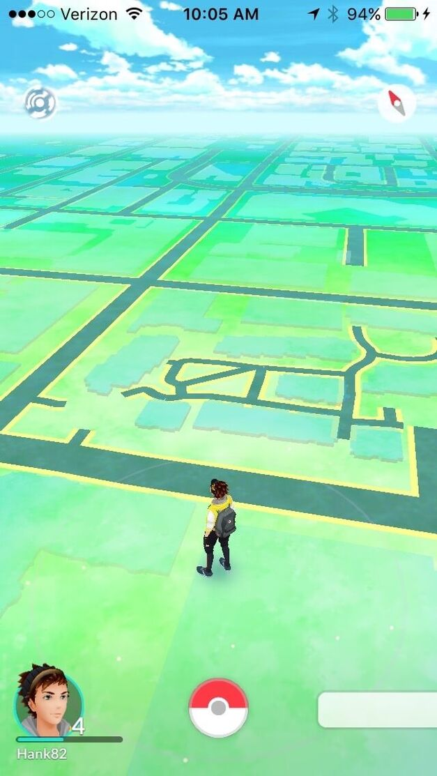Pokemon Go Starter Walking Around