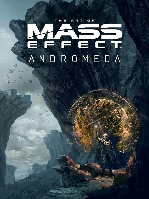 The Art of Mass Effect Andromeda art book cover
