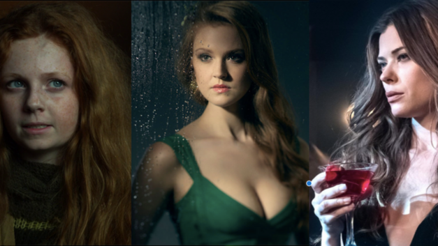 Gotham Clare Foley, Maggie Geha and Peyton List as Ivy Pepper