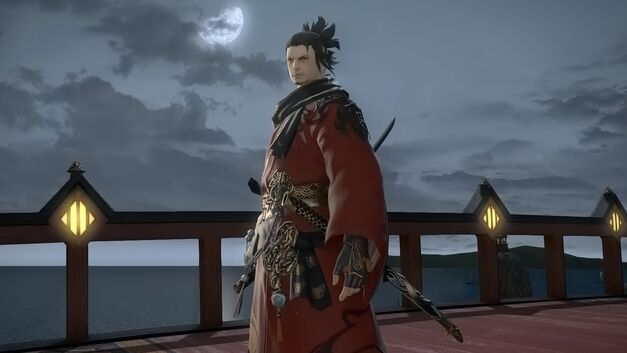 The Samurai, the second new class headed to Final Fantasy XIV soon.