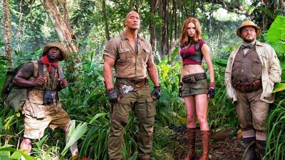 Watch Jack Black Get Eaten in 'Jumanji: Welcome to the Jungle' Trailer