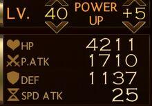 Akuma Stats 40