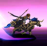 Lu Bu Azure Cavalry