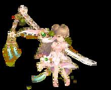 Kagura Flower Costume