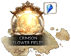 Crimson Flower Fields Icon