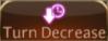 Turn Decrease Icon sml