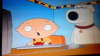 Stewie watches Seven Little Monsters
