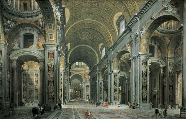 File:Giovanni Paolo Panini - Interior of St. Peter's, Rome.jpg