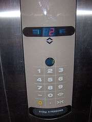 Elevator Console