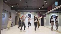 SNH48 7SENSES《天鹅SWAN》韩文版舞蹈练习室