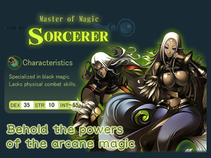 Class sorcerer