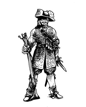 Montaigne musketeer