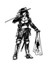 Castille swordswoman