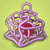 Pet heart cage