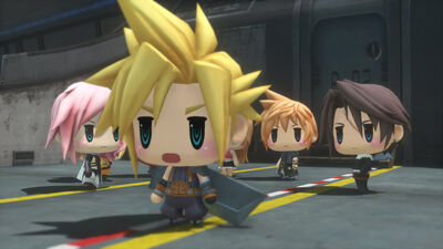 'World of Final Fantasy' Might be Square Enix's Cutest Game Ever