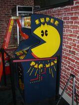 Super Pac Man Arcade Machine
