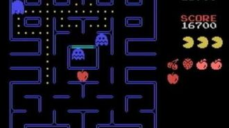 MSX GAME ◀ PAC-MAN パックマン▶ Stage 1 ~ 11