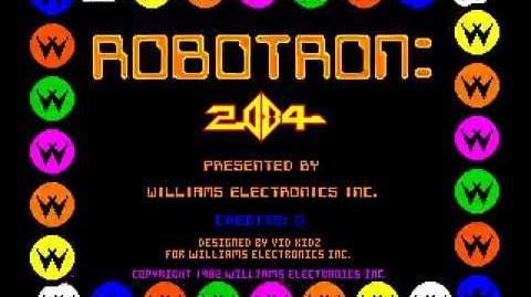 Video - Arcade Game Robotron 2084 (1982 Williams) | 80's Video Games