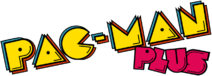 Pac man plus logo by ringostarr39-d7uew9v