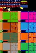 Arcade - Rally-XNew Rally-X - General Sprites