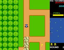 RallyXGameplay