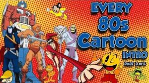 EVERY 80s Cartoon Intro EVER Part 2 of 4