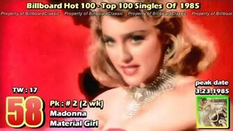 1985 - USA - Top 100 Songs of 1985 1080p HD Updated Version