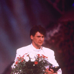 1987 Winner - Johnny Logan for Ireland.