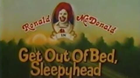 """McDonald's - """"Get Out Of Bed, Sleepyhead"""" (Commercial, 1980)"""