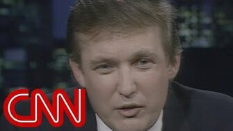 """Donald Trump """"I don't want to be president"""" - entire 1987 CNN interview (Larry King Live)"""