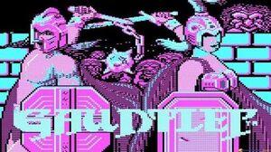 Gauntlet gameplay (PC Game, 1985)