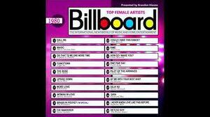 Billboard Top Female Artists - 1980