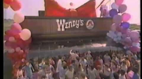 Kool & The Gang 1986 Wendy's Chicken Nuggets Commercial