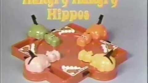 Hungry Hungry Hippos 1980s Commercial