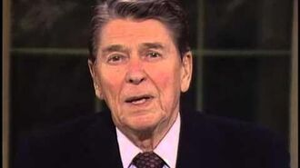 President Ronald Reagan's Farewell Address. January 11, 1989