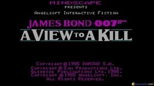 007 A View To A Kill gameplay (PC Game, 1985)