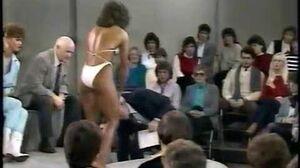 Bodybuilder Rachel Mclish on 1984 Donahue Show