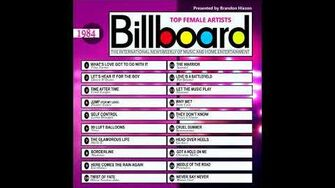 Billboard Top Female Artists - 1984-0