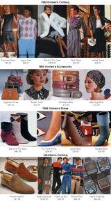 Fashion in 1984