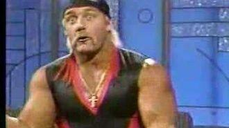 Hulk Hogan on The Arsenio Hall Show - 1989