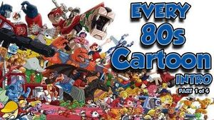 EVERY 80s Cartoon Intro EVER Part 1 of 4