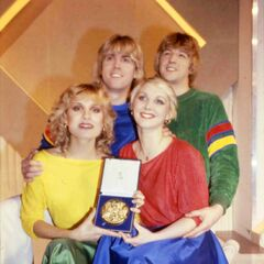 1981 Winner - Bucks Fizz for United Kingdom.