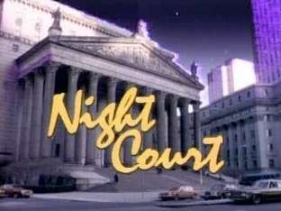 Night Court Title Card