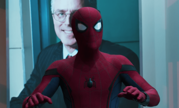 Spidey suit in Spider-Man: Homecoming