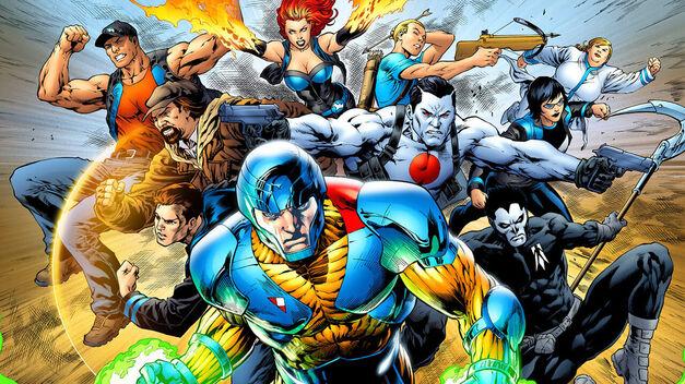 Valiant Comics Entertainment Splash