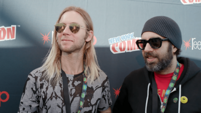 NYCC: Chatting TMNT on Nick with Ciro Nieli and Greg Cipes
